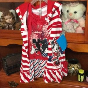 Minnie Mouse dress and cover